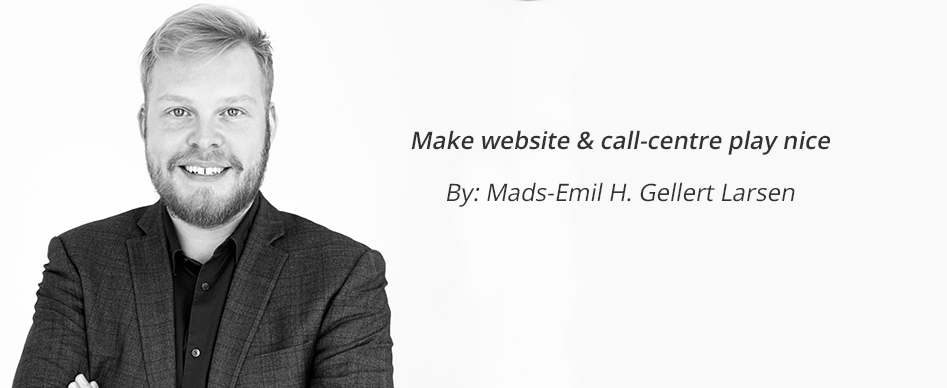 Make Website & Call-Centre Play Nice
